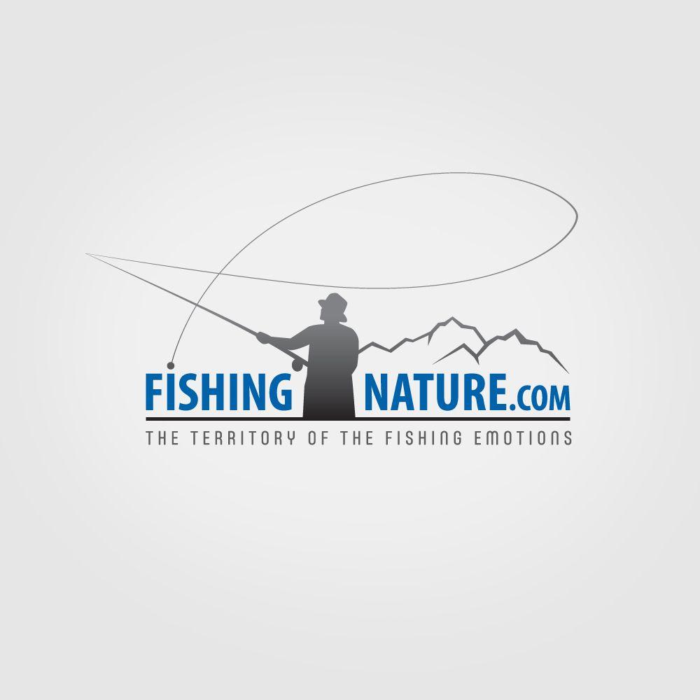 Лого он-лайн фотожурнала о рыболовстве и природе - дизайнер mz777