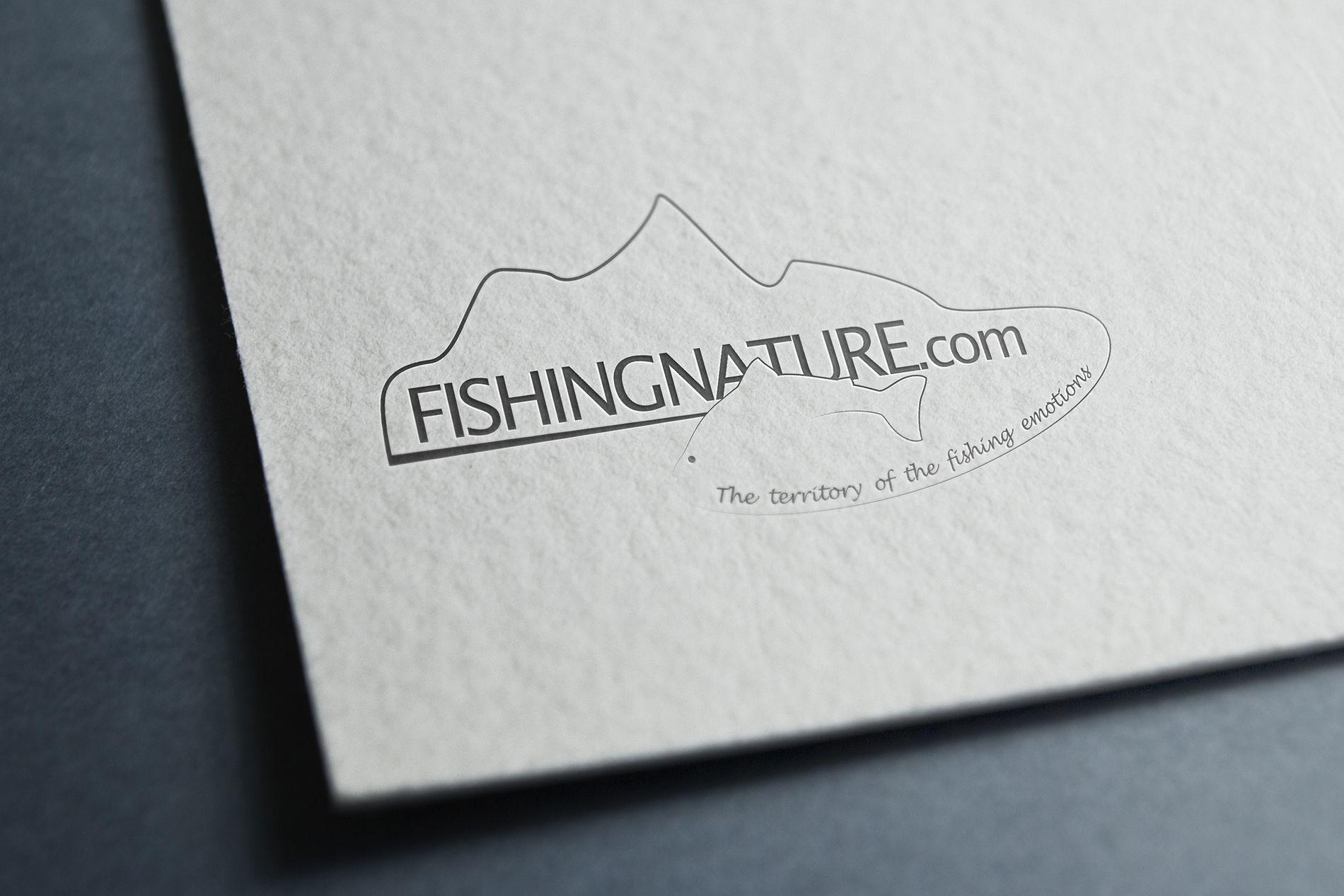 Лого он-лайн фотожурнала о рыболовстве и природе - дизайнер Nataliya_Let
