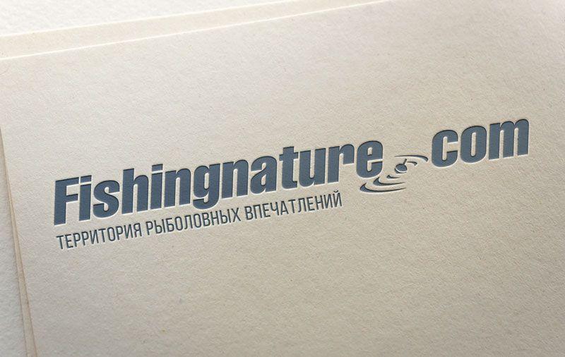 Лого он-лайн фотожурнала о рыболовстве и природе - дизайнер ready2flash