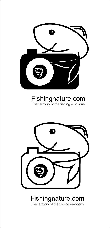 Лого он-лайн фотожурнала о рыболовстве и природе - дизайнер Krasivayav