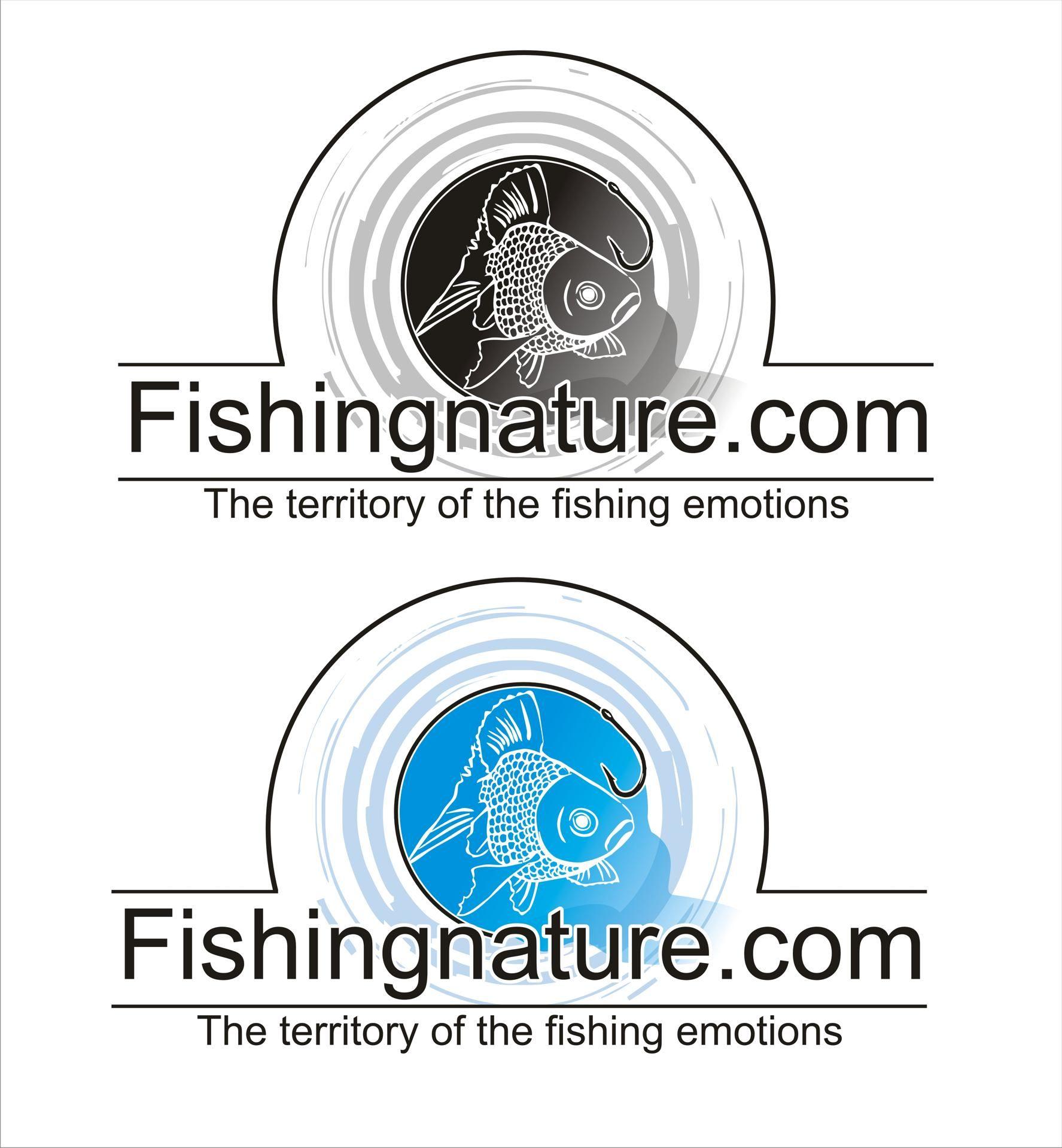 Лого он-лайн фотожурнала о рыболовстве и природе - дизайнер annare