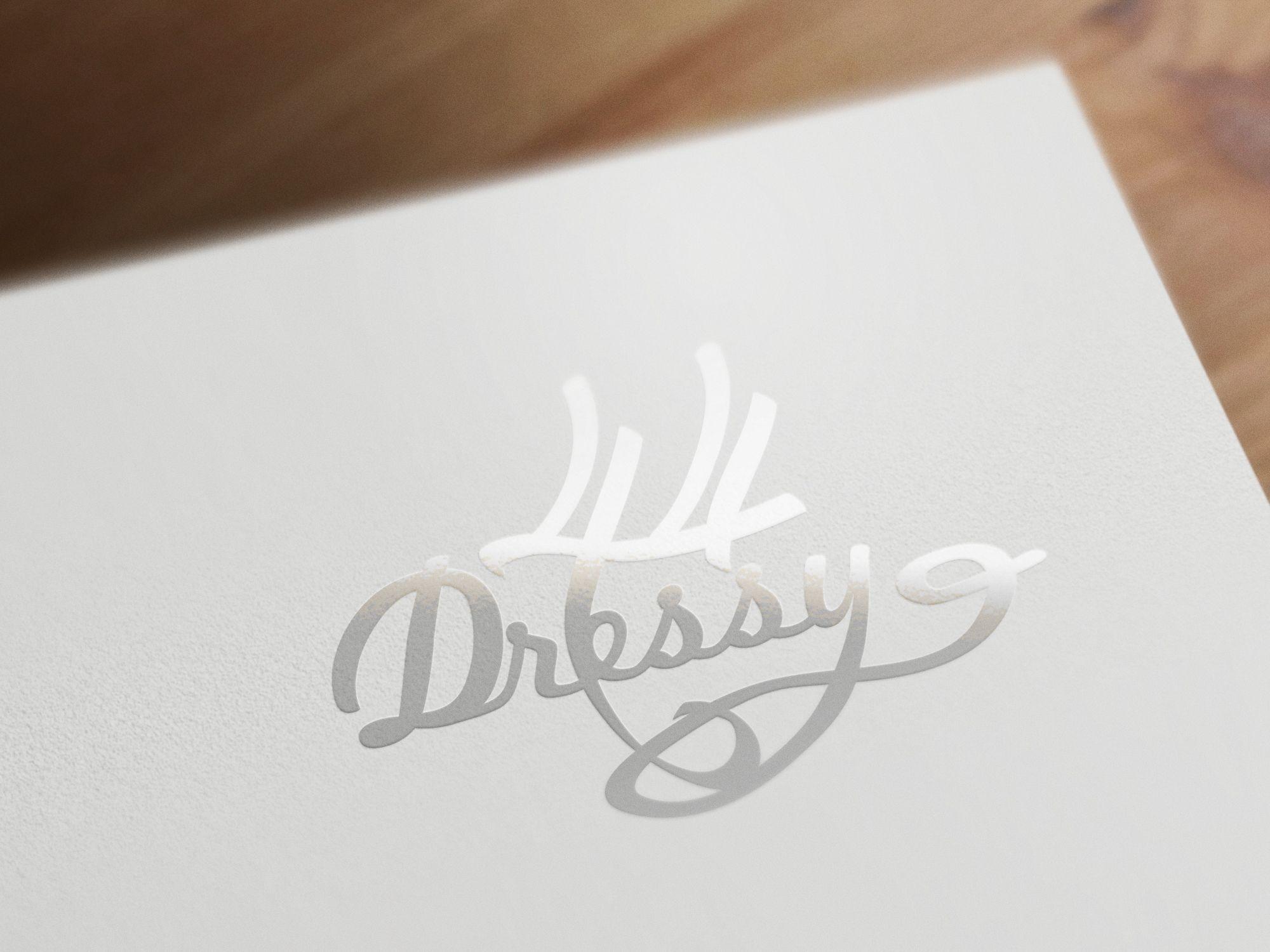 разработка логотипа _производство платьев - дизайнер rosewind