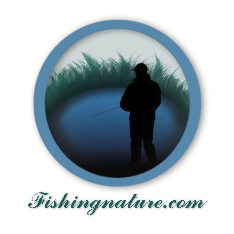 Лого он-лайн фотожурнала о рыболовстве и природе - дизайнер kyryshka
