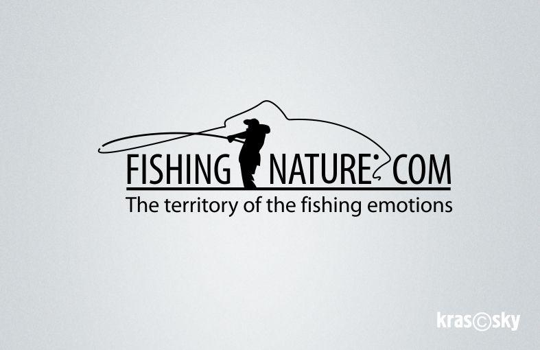 Лого он-лайн фотожурнала о рыболовстве и природе - дизайнер kras-sky