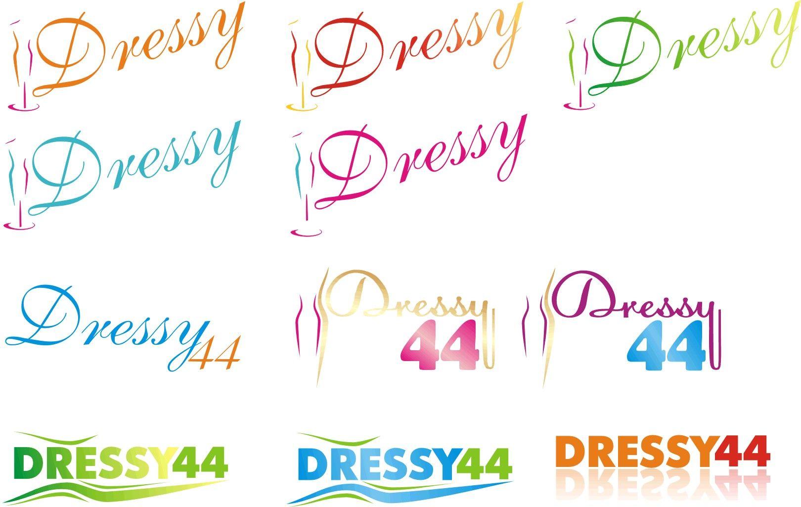разработка логотипа _производство платьев - дизайнер mirmobile