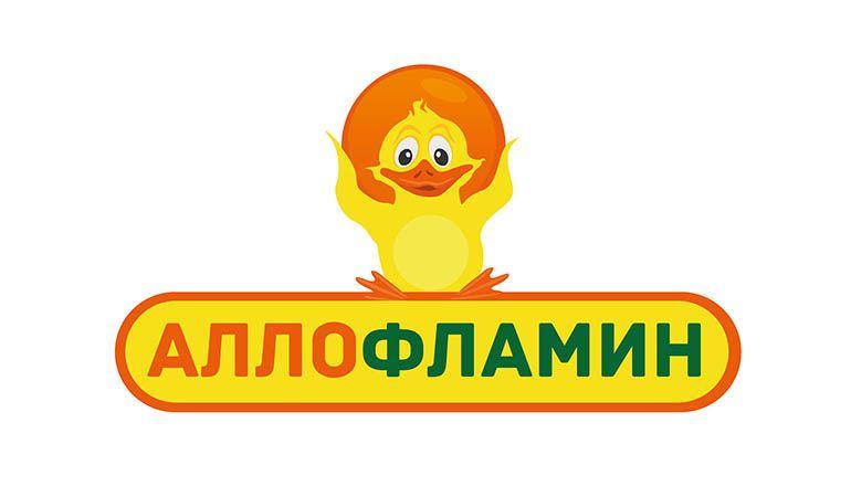 Логотип препарата Аллофламин - дизайнер DinaA83