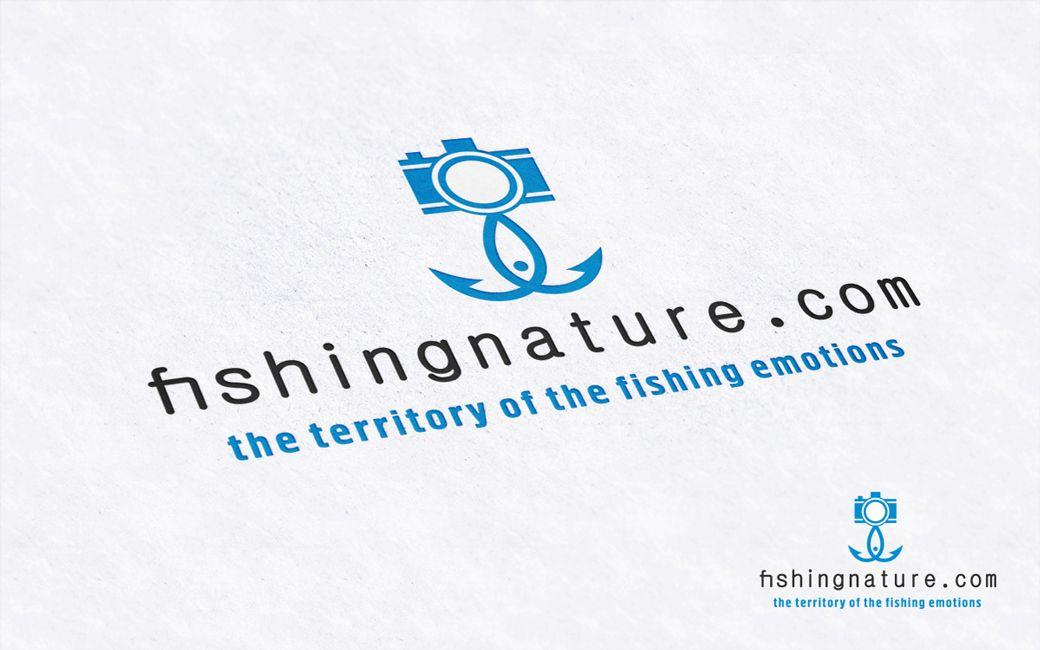 Лого он-лайн фотожурнала о рыболовстве и природе - дизайнер Alexey_SNG