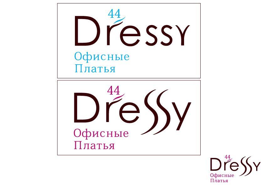 разработка логотипа _производство платьев - дизайнер Masha