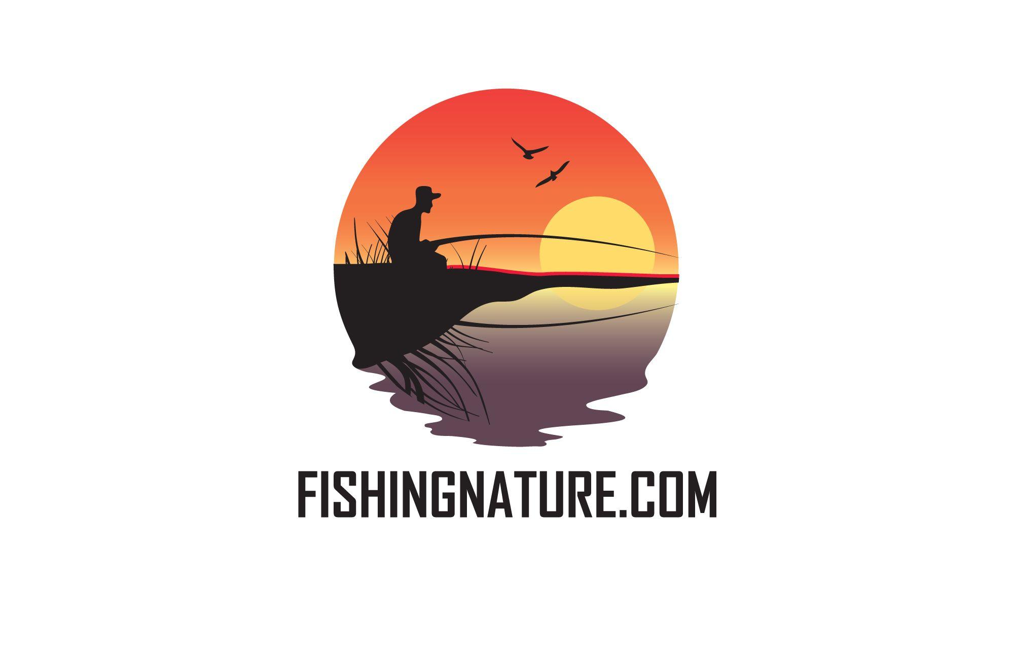 Лого он-лайн фотожурнала о рыболовстве и природе - дизайнер tanya_banka