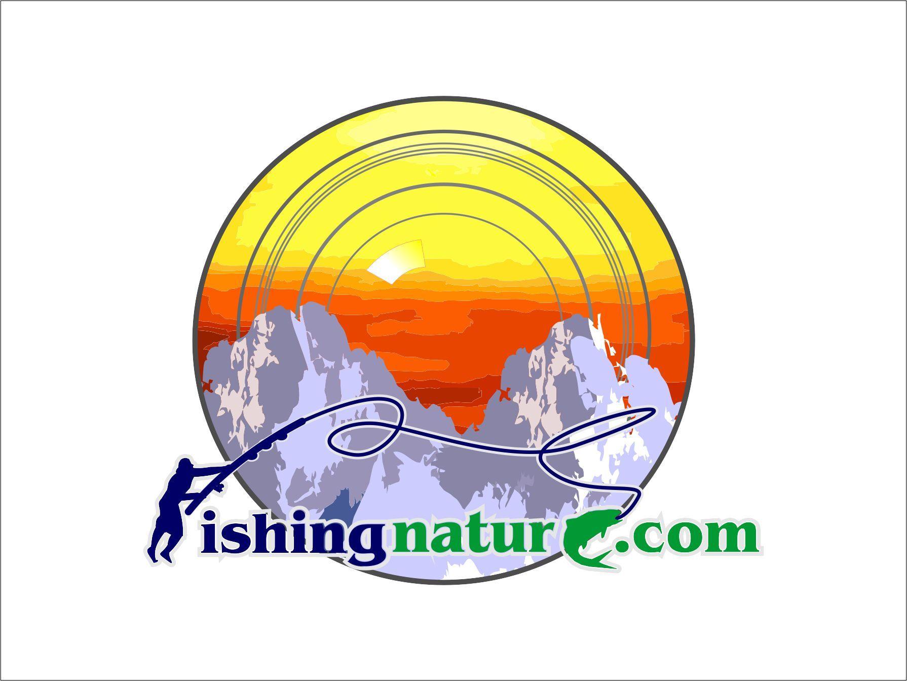 Лого он-лайн фотожурнала о рыболовстве и природе - дизайнер NUTAVEL