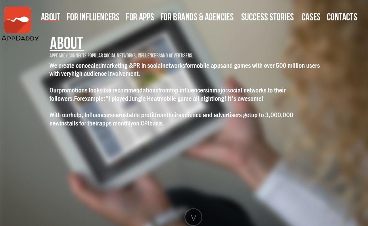 Адаптивный дизайн главной сайта (под мобилки) - дизайнер MerserStudio