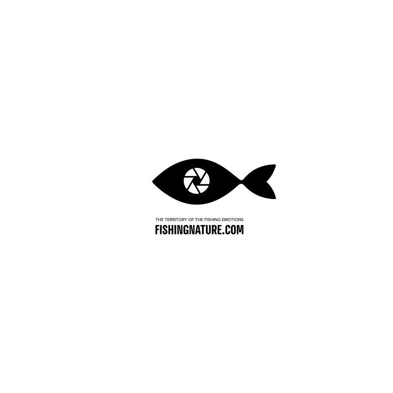 Лого он-лайн фотожурнала о рыболовстве и природе - дизайнер belkinbook