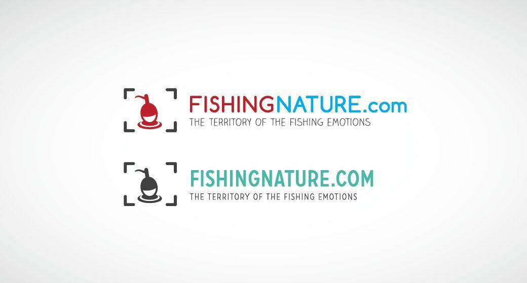 Лого он-лайн фотожурнала о рыболовстве и природе - дизайнер anton_n