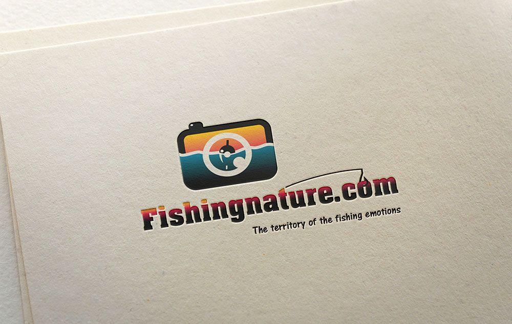 Лого он-лайн фотожурнала о рыболовстве и природе - дизайнер Minta