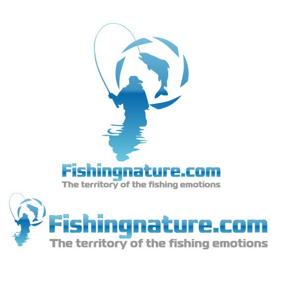Лого он-лайн фотожурнала о рыболовстве и природе - дизайнер zhutol
