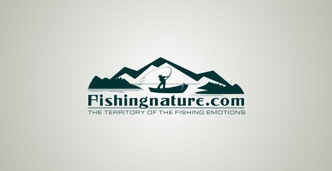 Лого он-лайн фотожурнала о рыболовстве и природе - дизайнер Lara2009