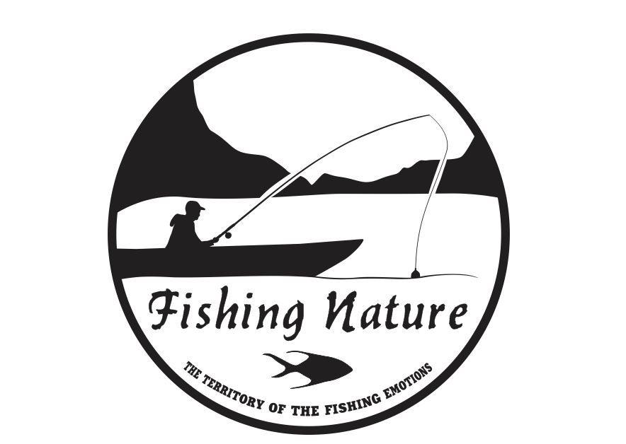 Лого он-лайн фотожурнала о рыболовстве и природе - дизайнер baltomal