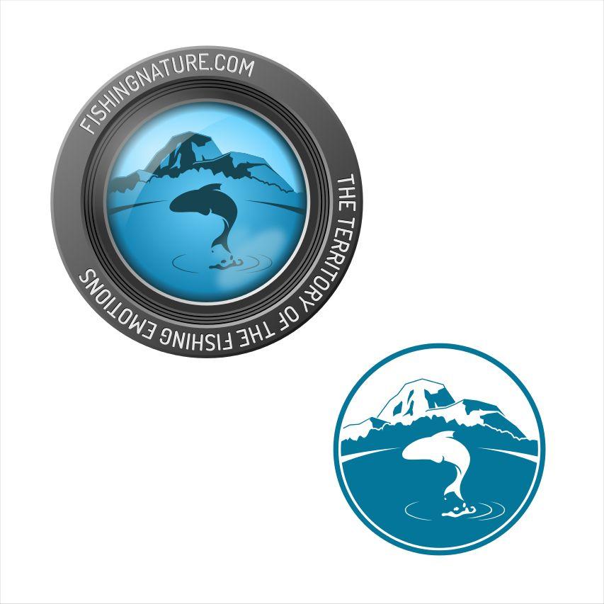 Лого он-лайн фотожурнала о рыболовстве и природе - дизайнер waP9eloo