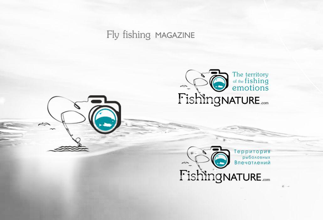 Лого он-лайн фотожурнала о рыболовстве и природе - дизайнер spirina