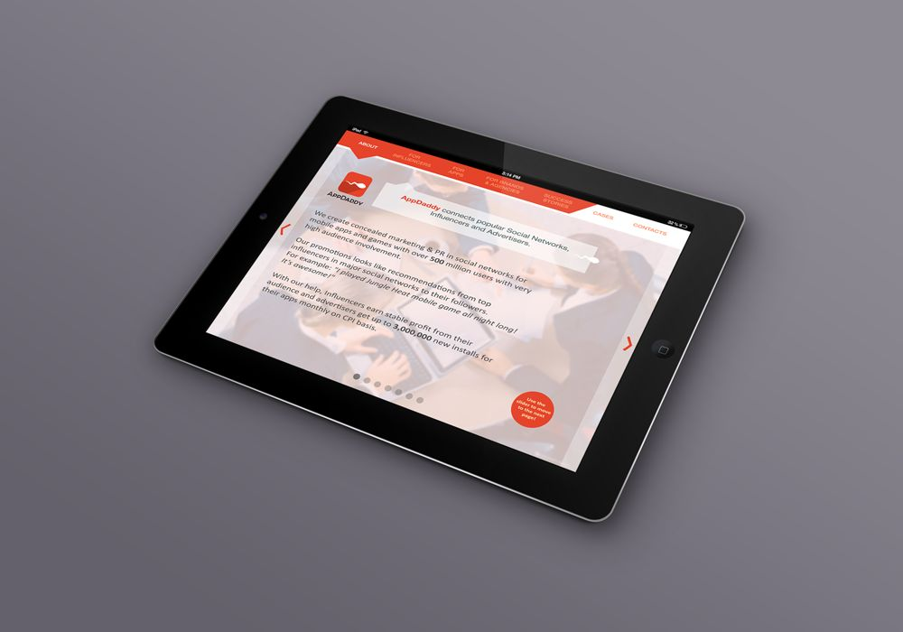 Адаптивный дизайн главной сайта (под мобилки) - дизайнер Kirillsh93