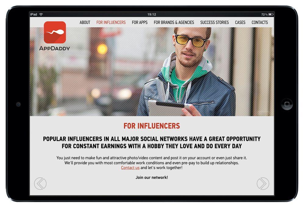 Адаптивный дизайн главной сайта (под мобилки) - дизайнер oleg_khalimov