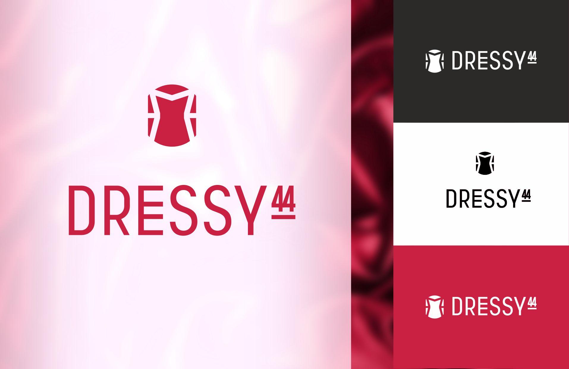разработка логотипа _производство платьев - дизайнер Lione_li