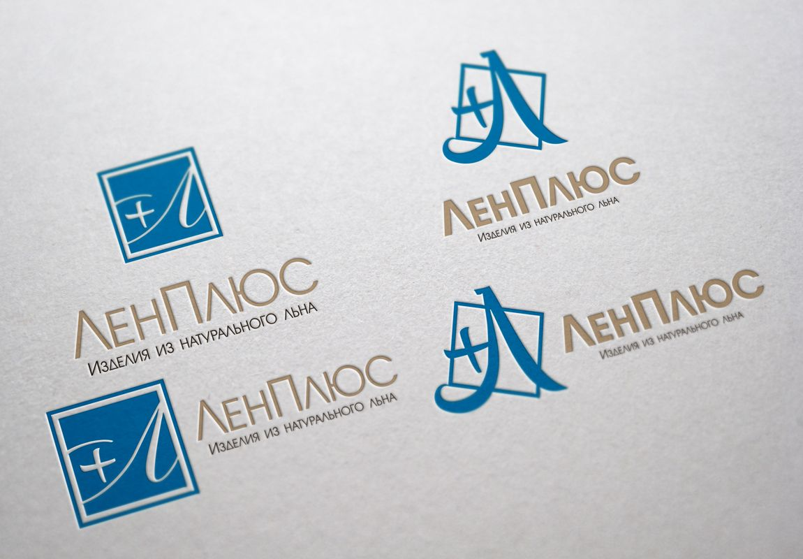 Логотип интернет-магазина ЛенПлюс - дизайнер lestar65