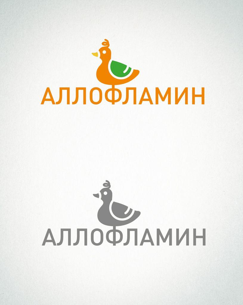 Логотип препарата Аллофламин - дизайнер kotashi83