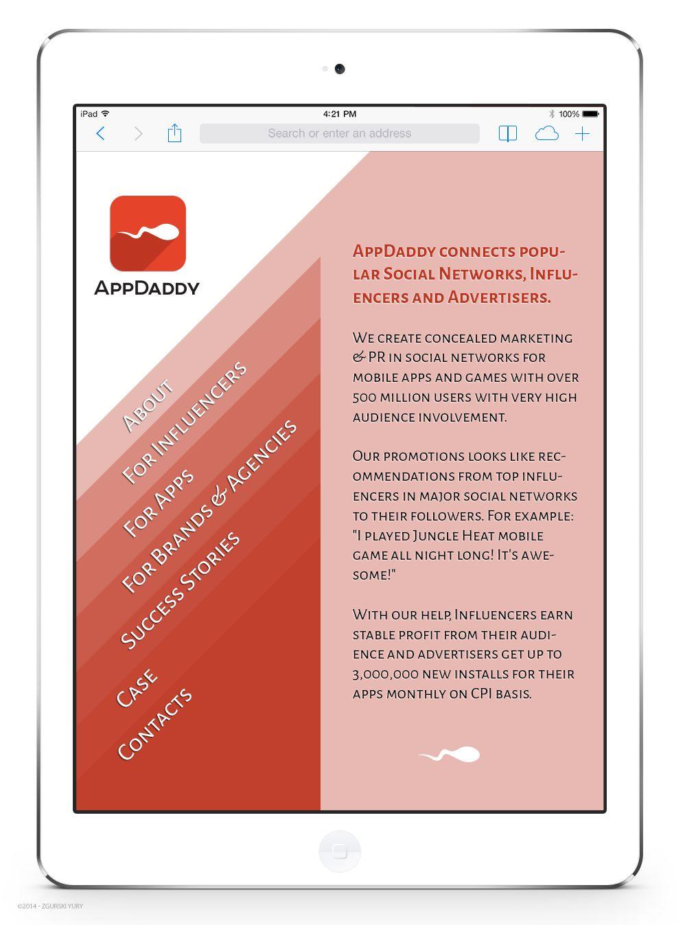 Адаптивный дизайн главной сайта (под мобилки) - дизайнер Odinus