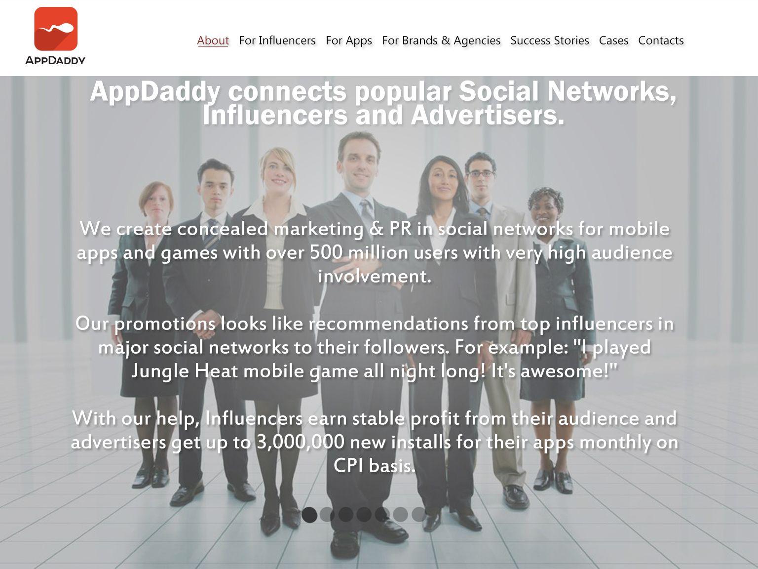 Адаптивный дизайн главной сайта (под мобилки) - дизайнер kirillps
