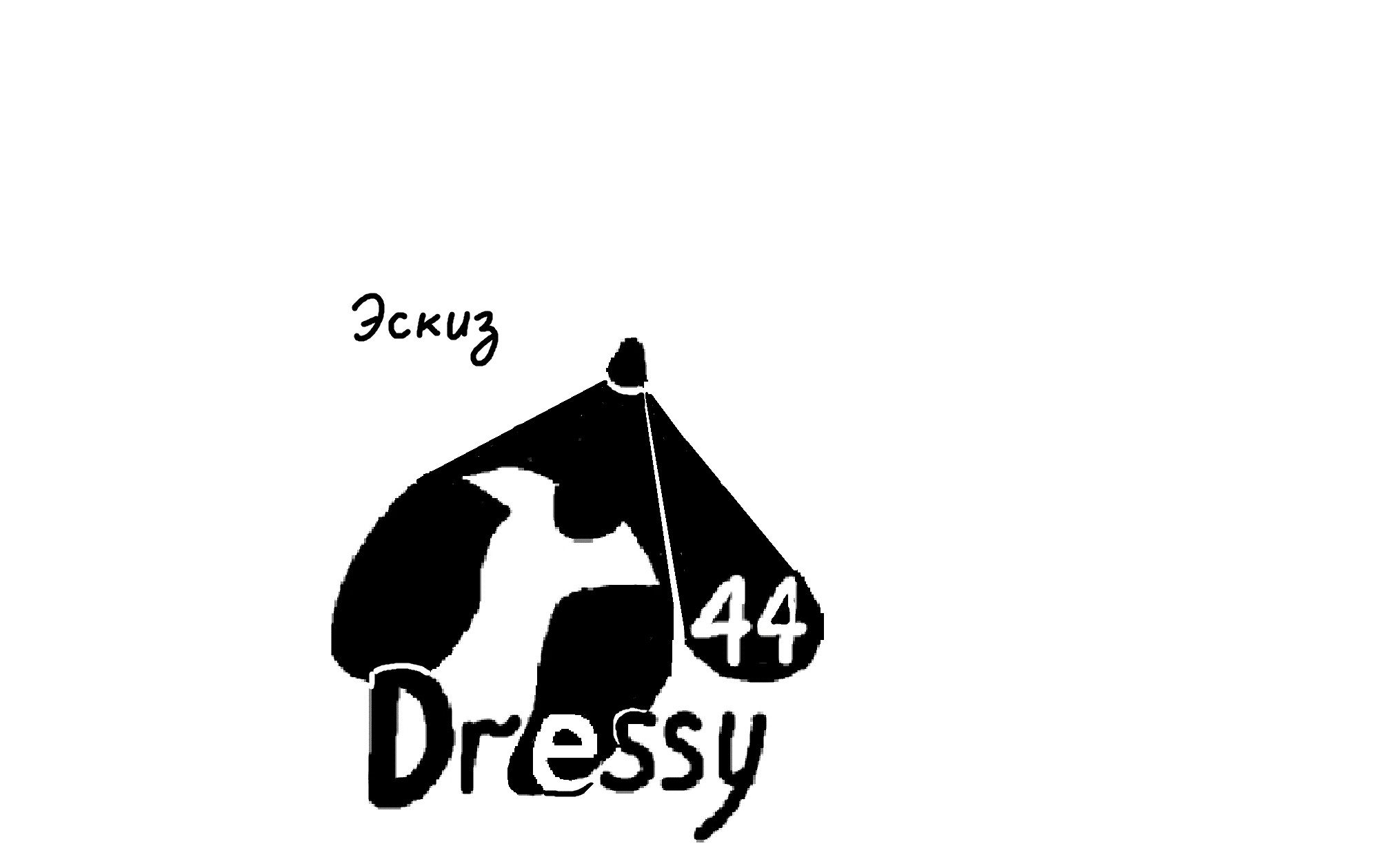 разработка логотипа _производство платьев - дизайнер katavoronchihin