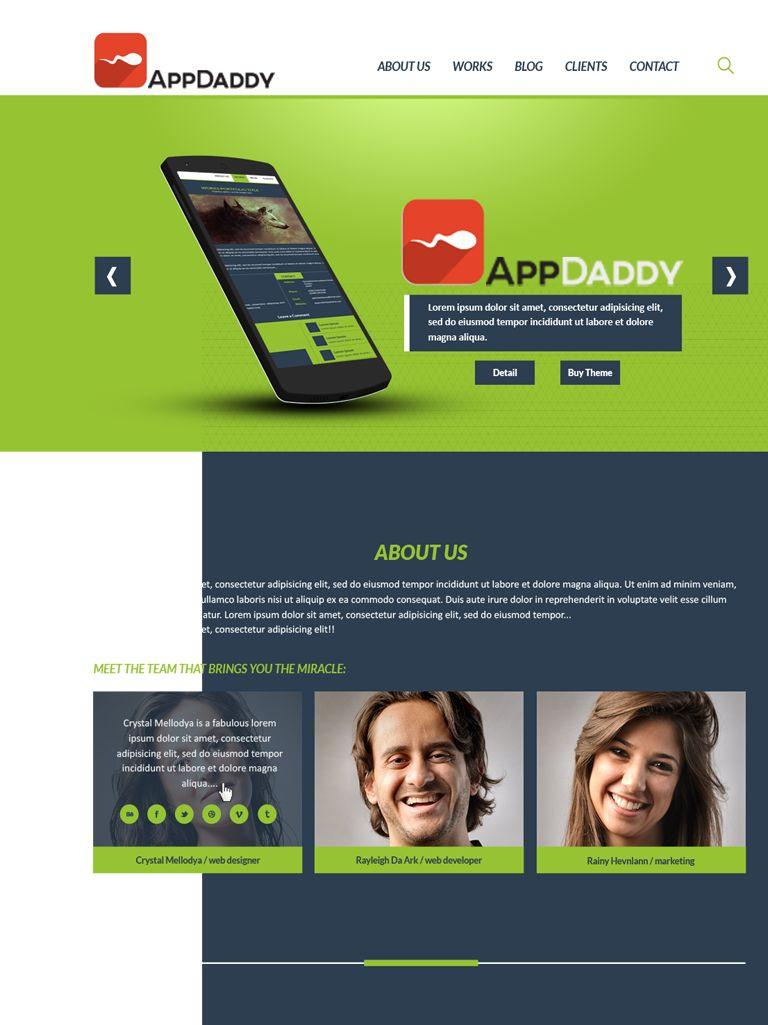 Адаптивный дизайн главной сайта (под мобилки) - дизайнер aix23