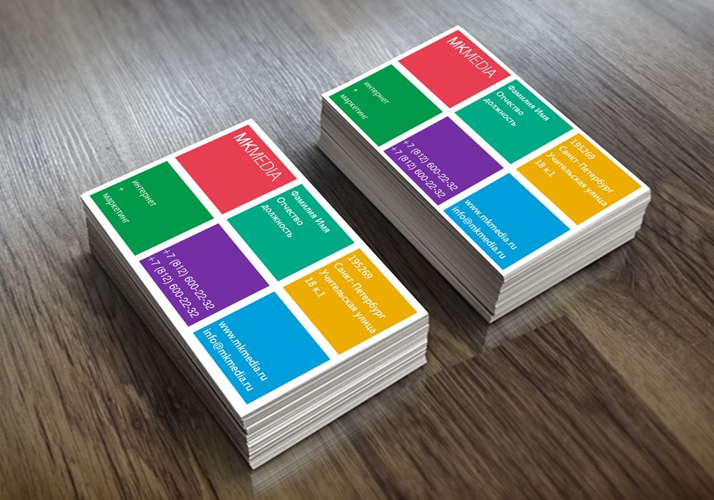 Разработка дизайна визитной карточки - дизайнер deco