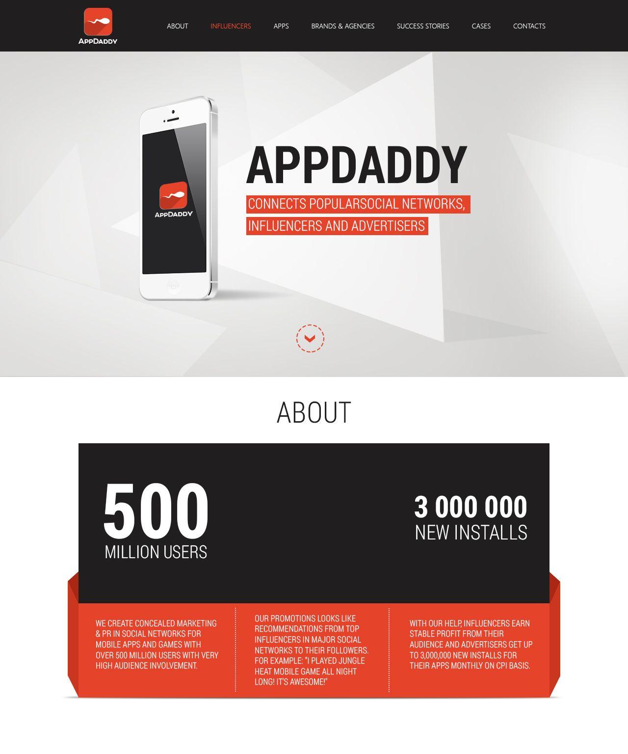Адаптивный дизайн главной сайта (под мобилки) - дизайнер DynamicMotion