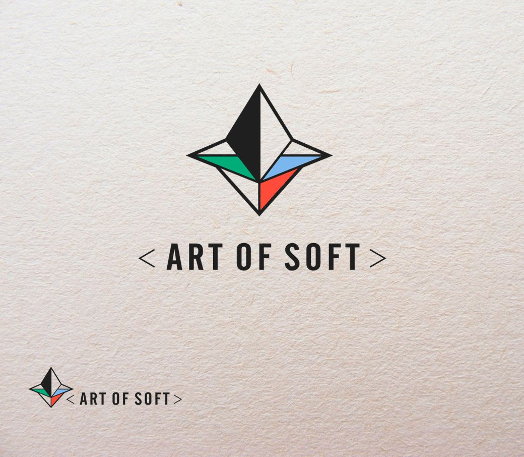 Логотип и фирменный стиль для разработчика ПО - дизайнер FONBRAND