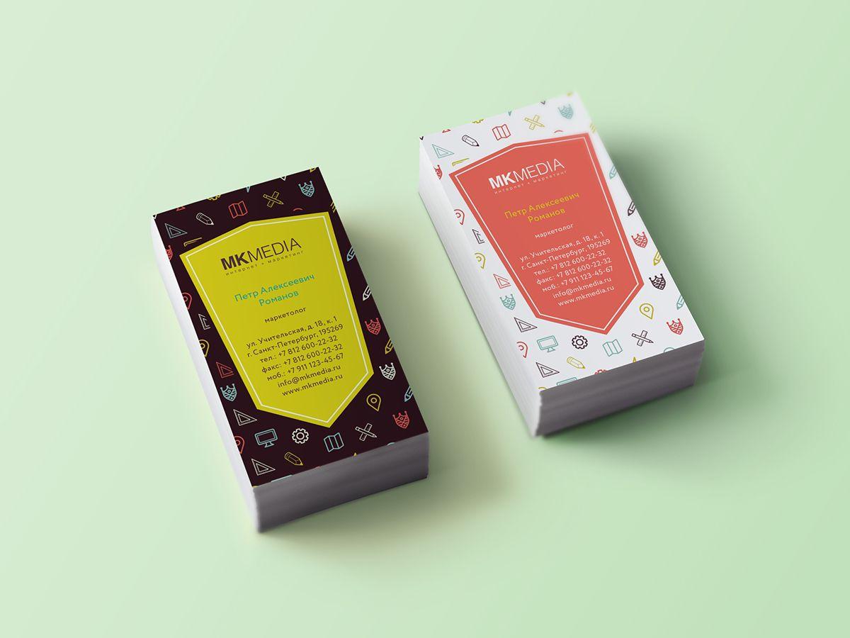 Разработка дизайна визитной карточки - дизайнер jennylems