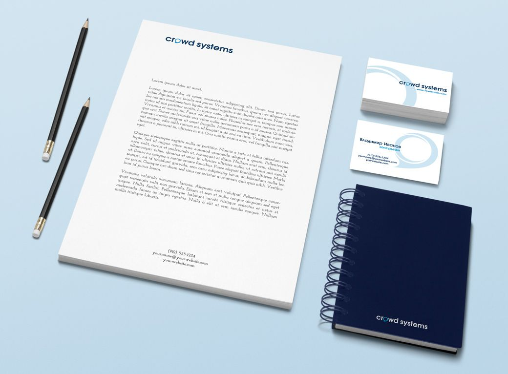 Фирменный стиль для краудсорсинговой компании - дизайнер Alexey_SNG