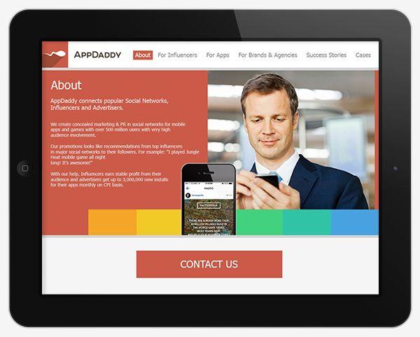 Адаптивный дизайн главной сайта (под мобилки) - дизайнер chokochino
