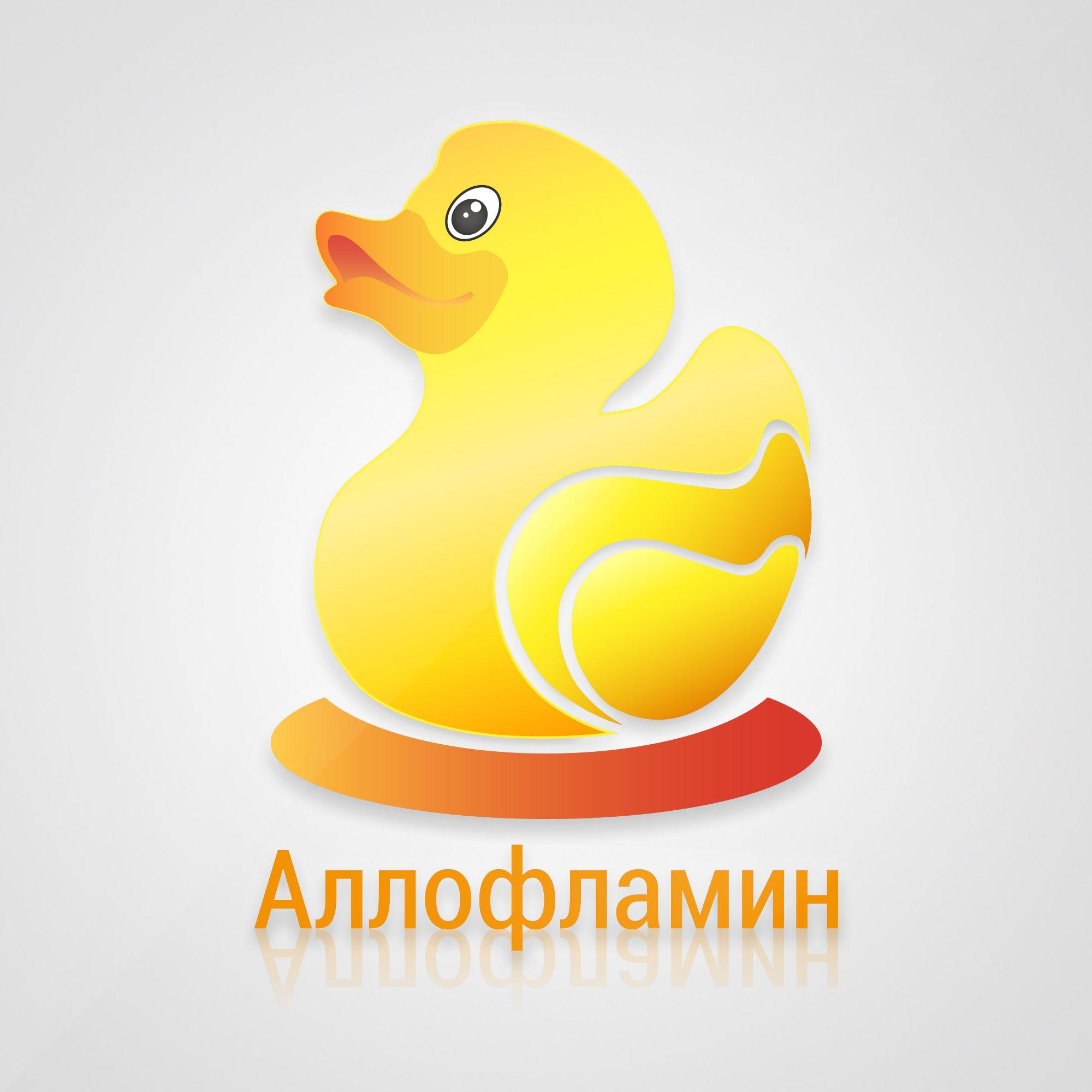 Логотип препарата Аллофламин - дизайнер dmitry_banin