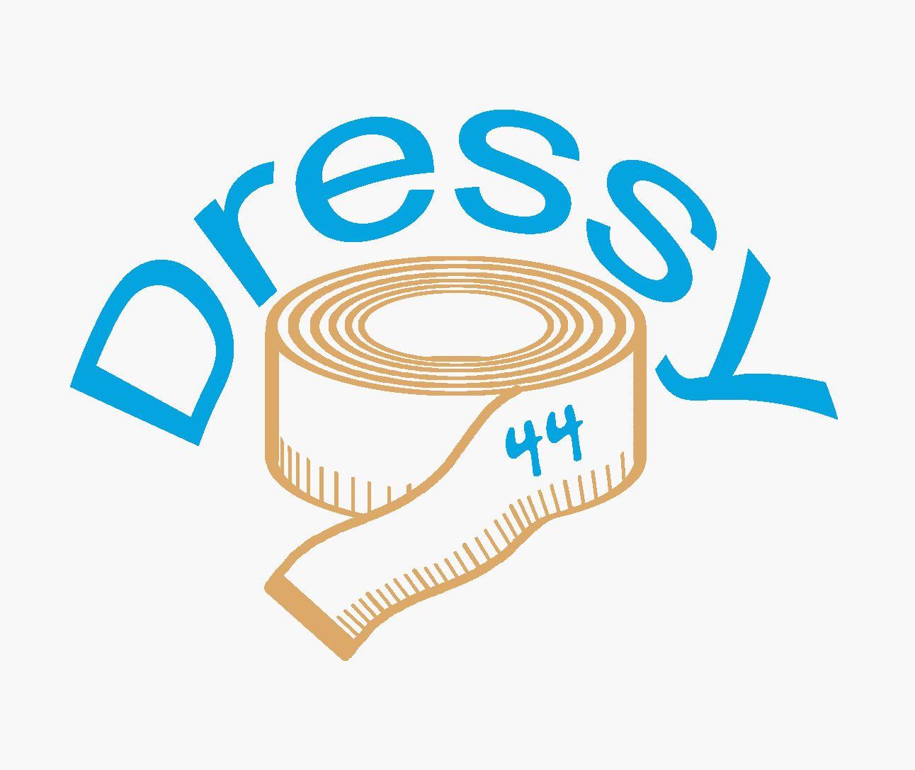 разработка логотипа _производство платьев - дизайнер DarkAngelofSad