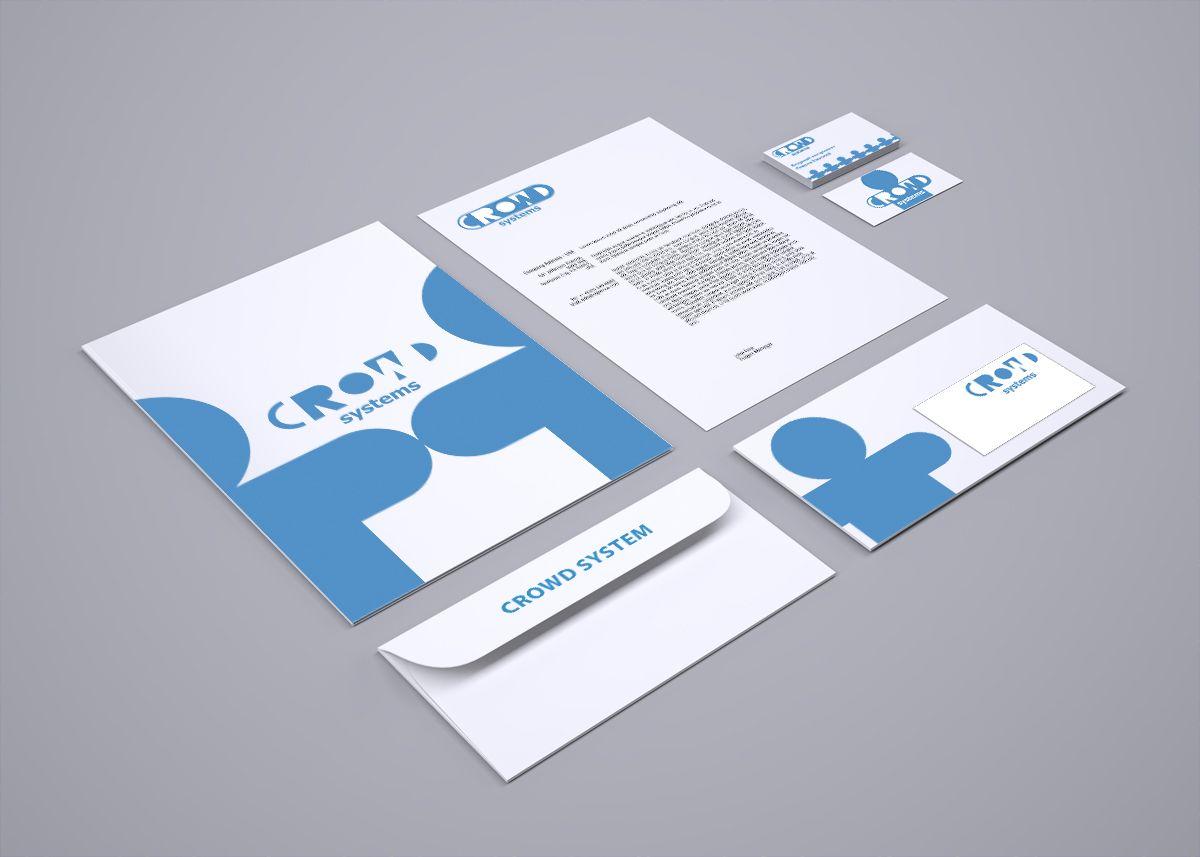 Фирменный стиль для краудсорсинговой компании - дизайнер vision