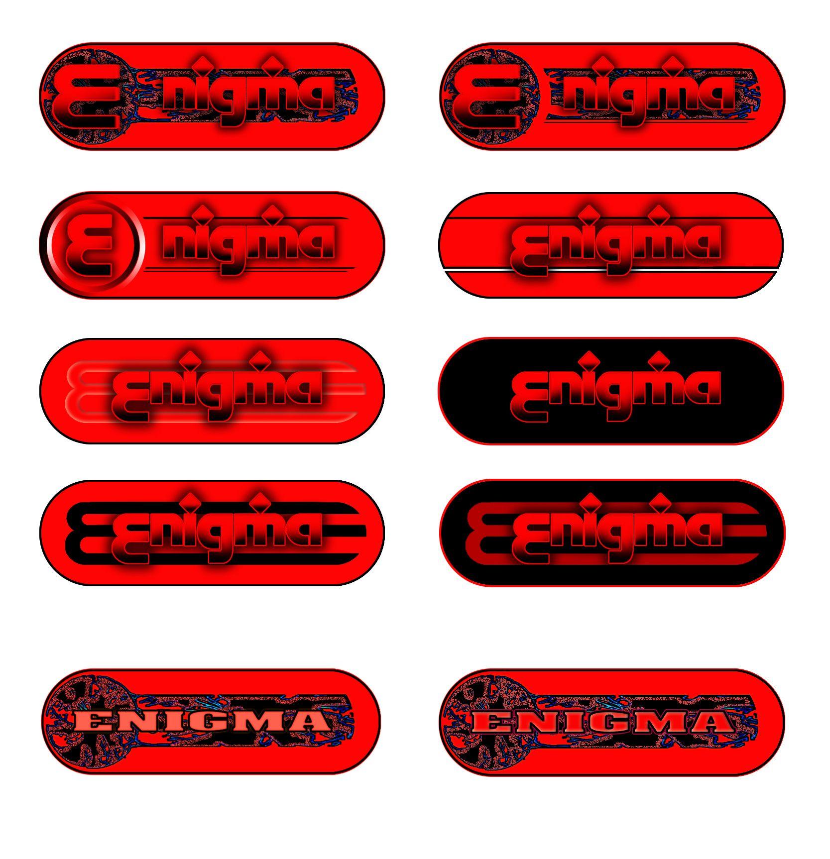 Логотип и фирмстиль для Enigma - дизайнер ZazArt