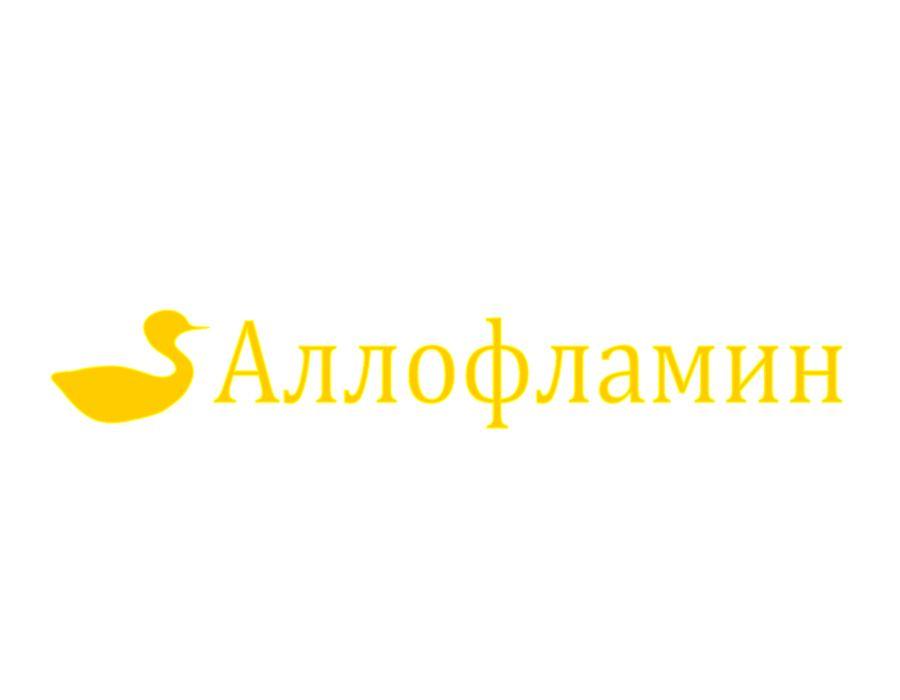 Логотип препарата Аллофламин - дизайнер Any_Where