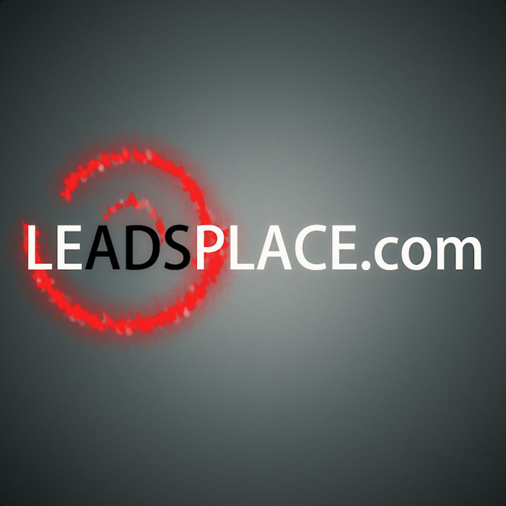 leadsplace.com - логотип - дизайнер eflin