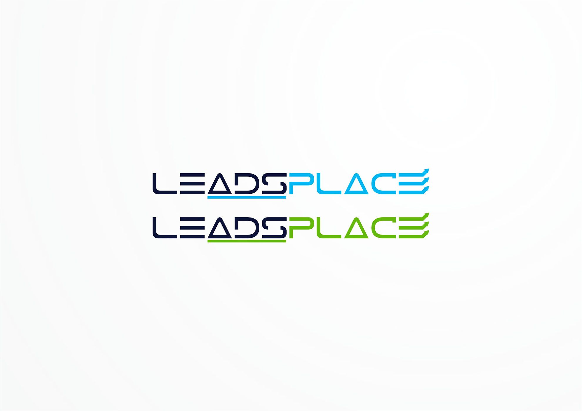 leadsplace.com - логотип - дизайнер Azullin
