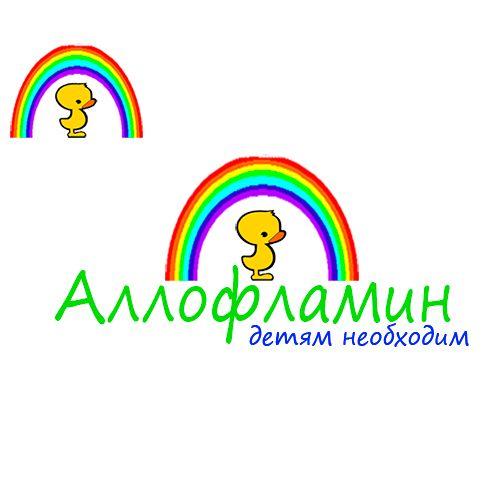 Логотип препарата Аллофламин - дизайнер dus9955