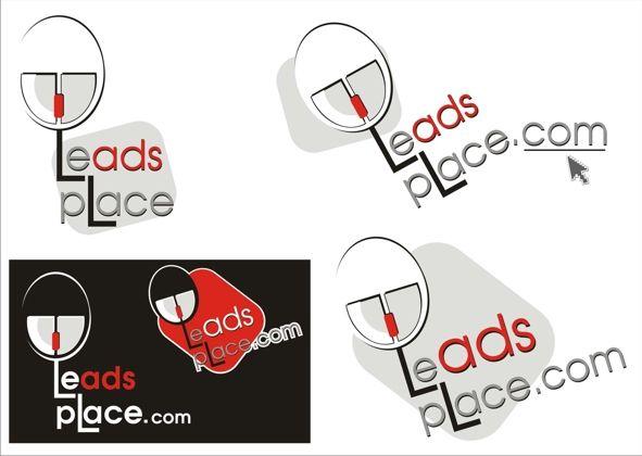 leadsplace.com - логотип - дизайнер annare