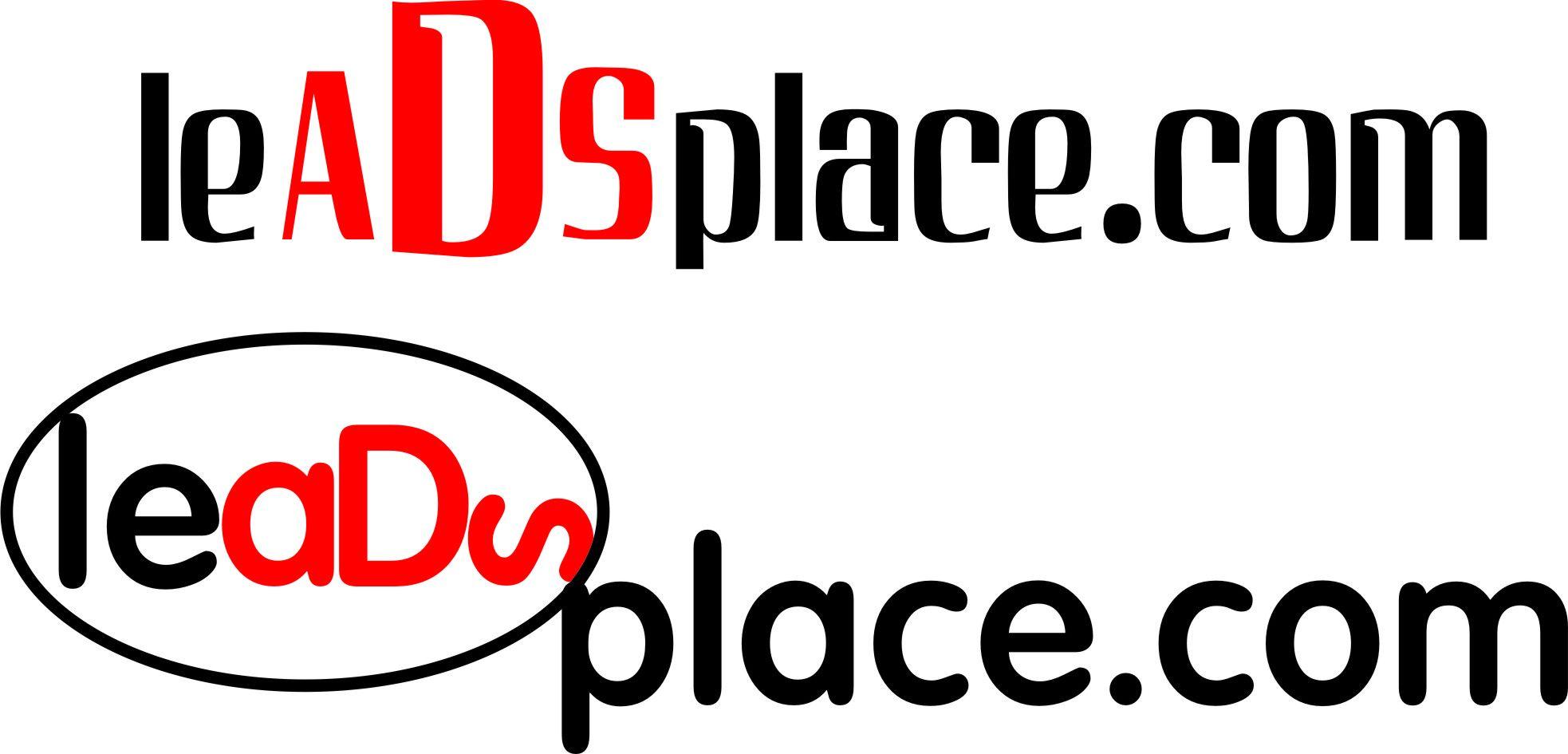leadsplace.com - логотип - дизайнер Juuuliiiii