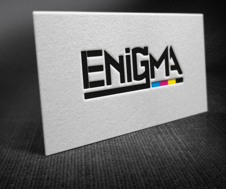 Логотип и фирмстиль для Enigma - дизайнер Phantome