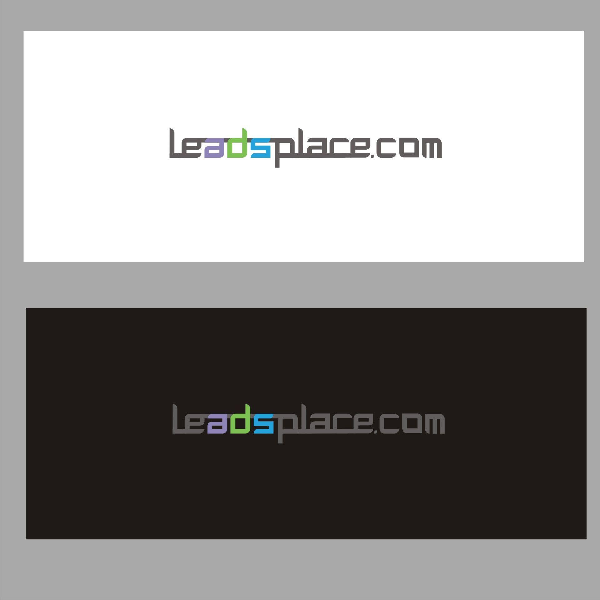 leadsplace.com - логотип - дизайнер dbyjuhfl